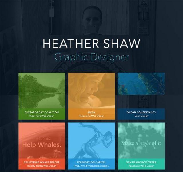 Graphic Design Portfolio Websites Examples