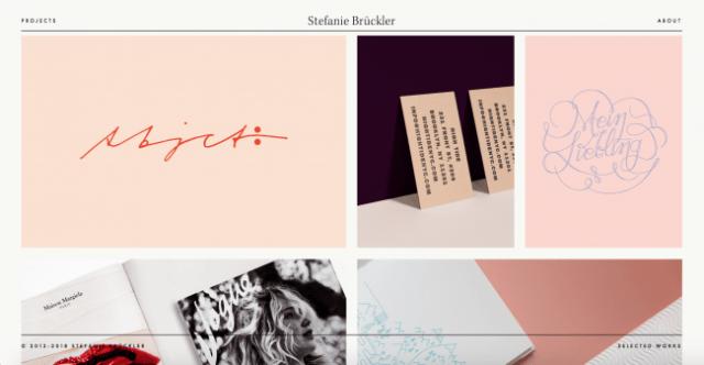 Graphic Design Portfolio Websites