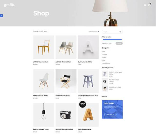 wordpress theme selling art and crafts