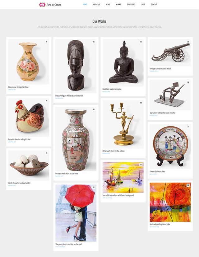 best artist wordpress themes