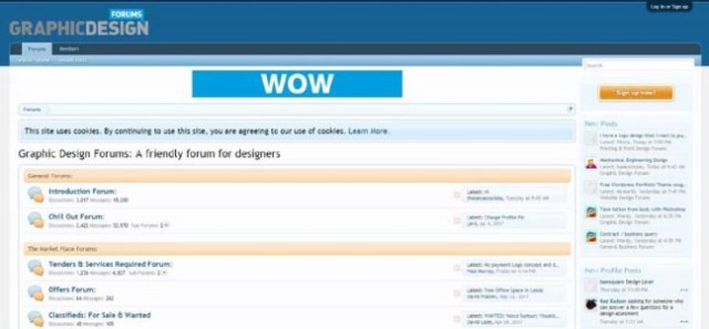 Top forums for web design