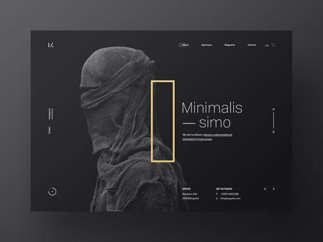 dark ui design inspiration