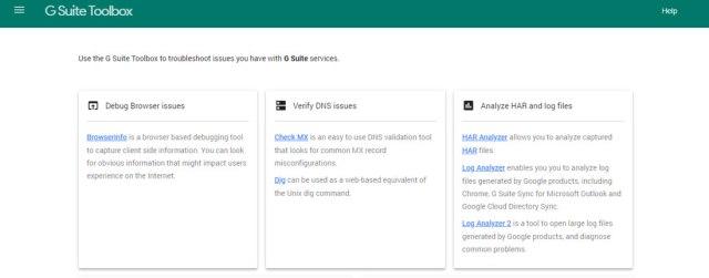 google gsuite tool