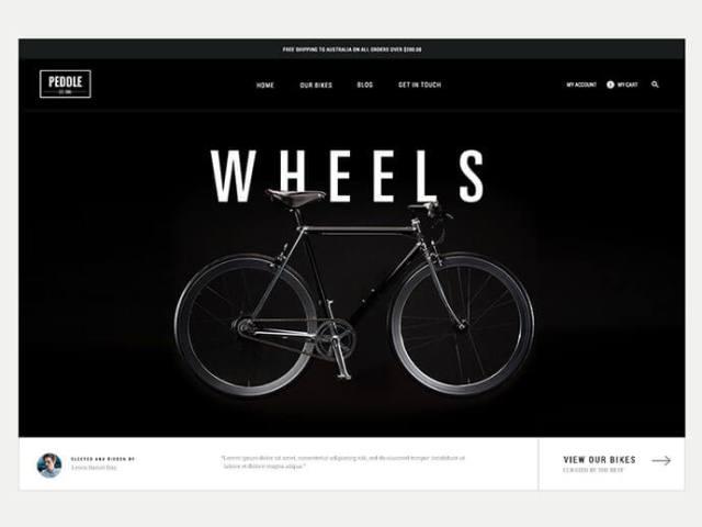 Dark Background Web UI Designs