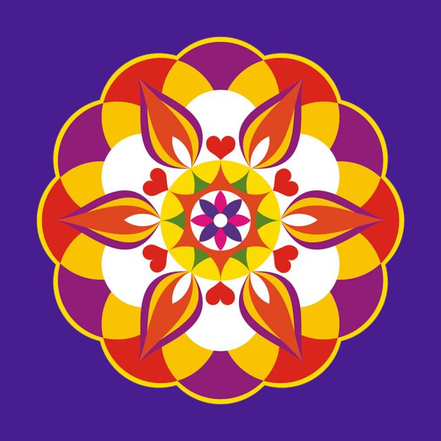 Simple Diwali Rangoli Designs