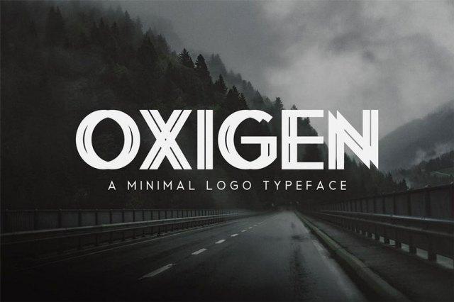 minimal font for logo design