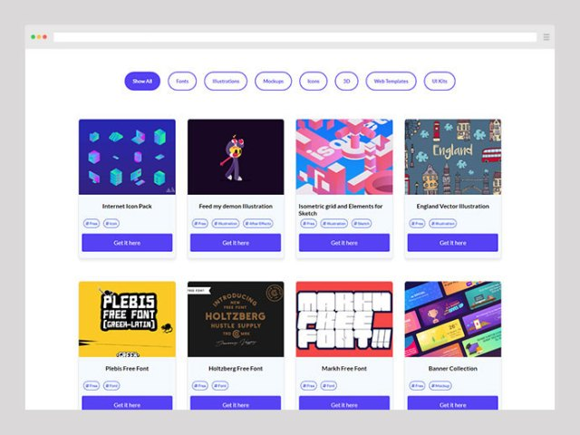 best websites for UI/UX designer
