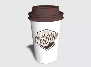 Realistic Coffee Cup Mockup Free Download