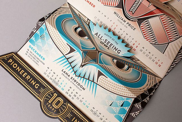 Retro Calendar Design Ideas