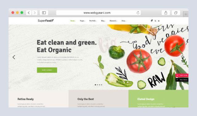 Best Fruit, Vegetable & Farming Business WordPress Themes