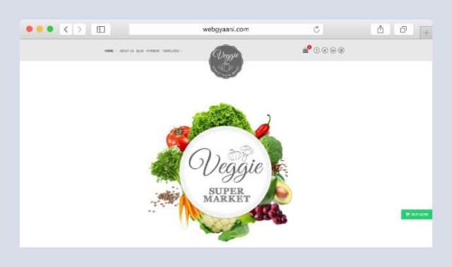 veggie woocommerce wordpress theme