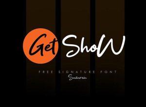 Get Show Script Signature Font Free Download