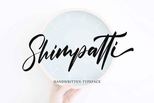 Modern Handwritten Logo Font
