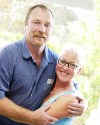 Mary and Steve Parson, Maryvale Lavender Farm