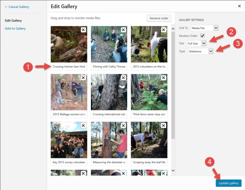 Creating a Slideshow (Slider) in WordPress with Jetpack