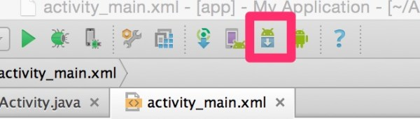 Activity main xml app My Application AndroidStudioProjects MyApplication