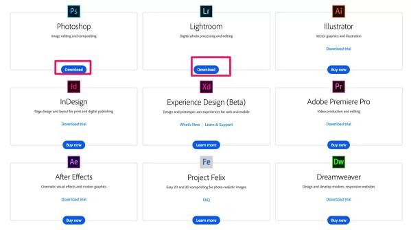 Adobe Creative Cloud desktop apps Adobe Creative Cloud