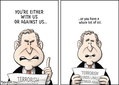 Bush, oil