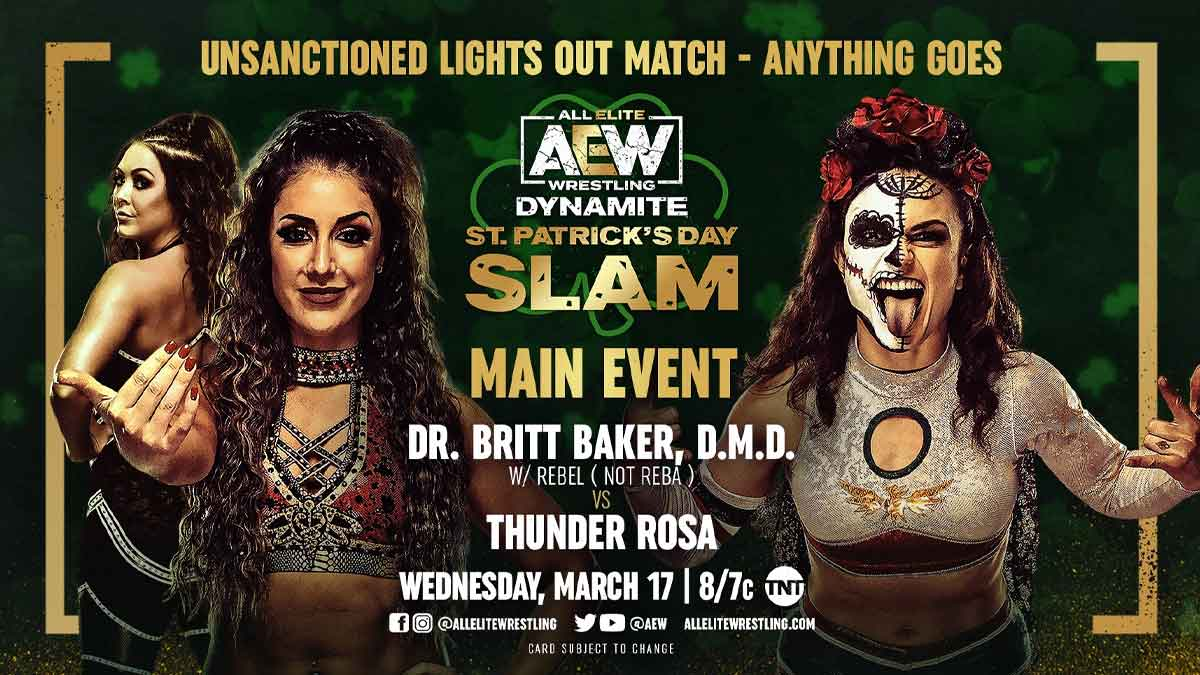 AEW Dynamite: St. Patrick Day's Slam 2021: Live Stream, Full Wrestling shows, Start Time and TV Coverage