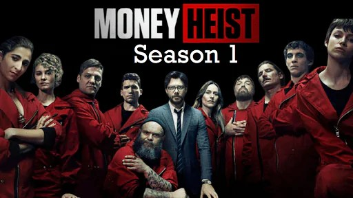 To watch Money Heist web series if you haven't watched