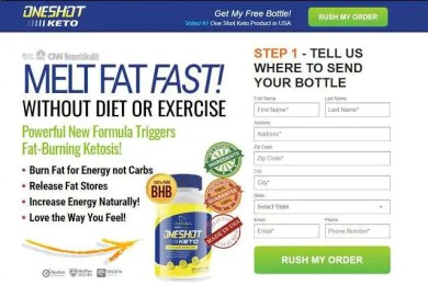 One Shot Keto Reviews: How Does It Work Or Scam?