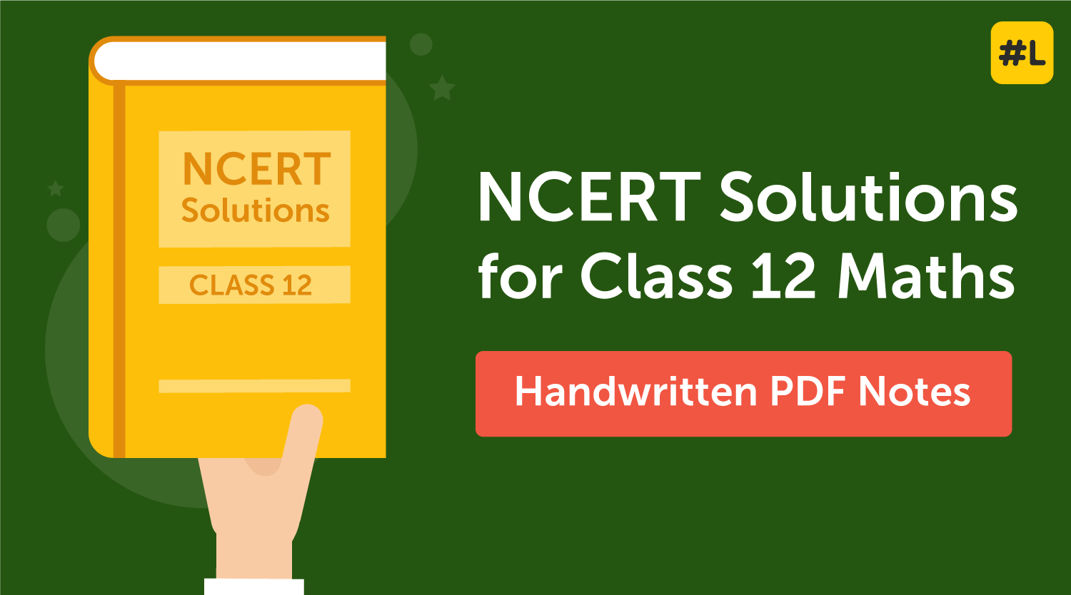 ncert solutions class 12 maths