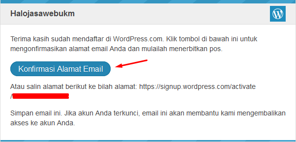 cara membuat wordpress