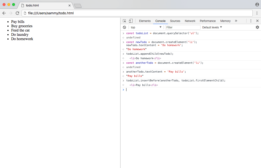 DOM Screenshot 3
