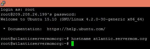Change Hotsname Ubuntu