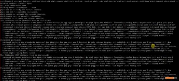 install php modules ubuntu
