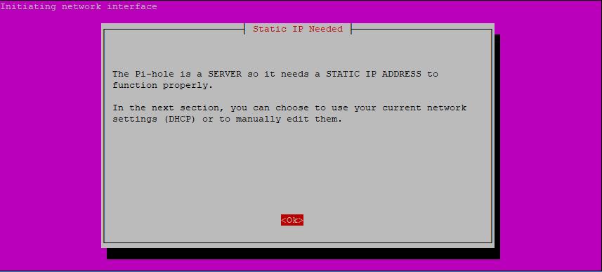 Step 4: Pi-hole Installation Script