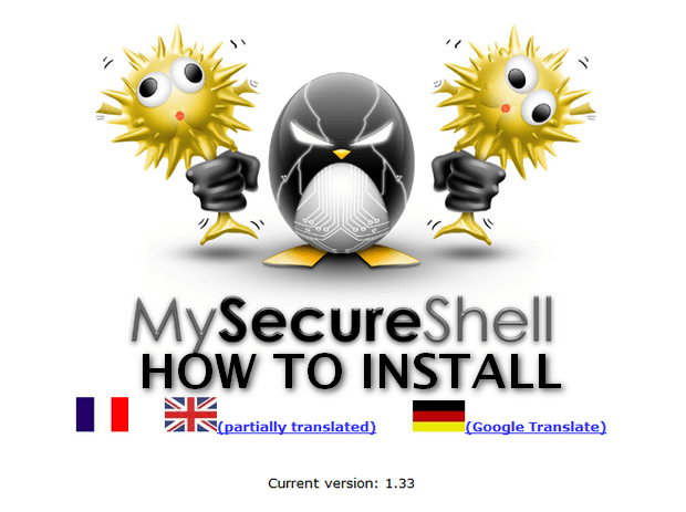 mysecureshell-install
