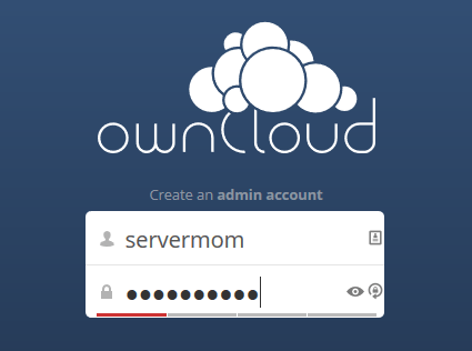 owncloud-create-admin
