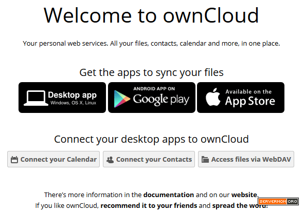 welcome-owncloud