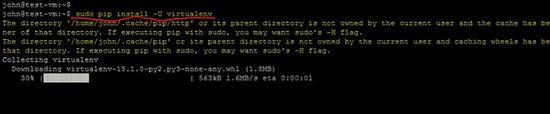 Install virtualenv