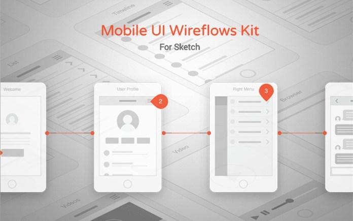 sketch wireframing gui kit