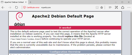 Just how to Install DokuWiki with Apache on Debian 9 17