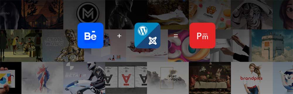 Behance WordPress plugin