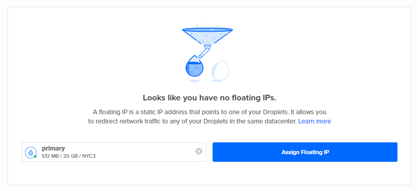 No Floating IPs
