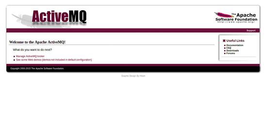 Access ActiveMQ Web Interface