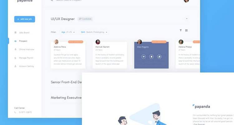 10 Beautifully Designed Admin Dashboard Layouts