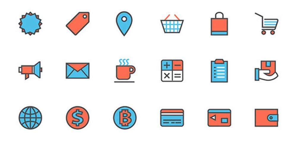10 Free Icon Units for Ecommerce UI Design | Webilicious