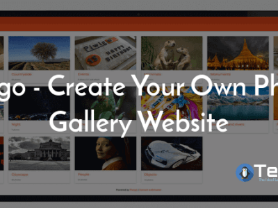 Create Your Own Photo Gallery Website