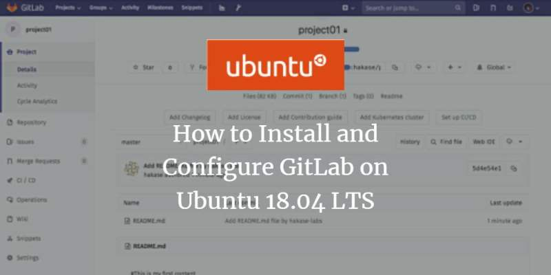 The right way to Set up and Configure GitLab on Ubuntu 18 04