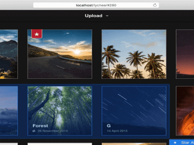 A Great Looking Photo Management System for Linux