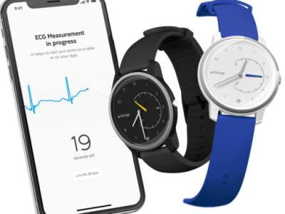 Withings undercuts Apple Watch, debuts $129 ECG monitoring smartwatch