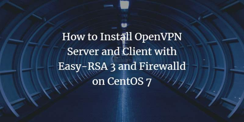The right way to Set up OpenVPN Server and Shopper with Simple-RSA