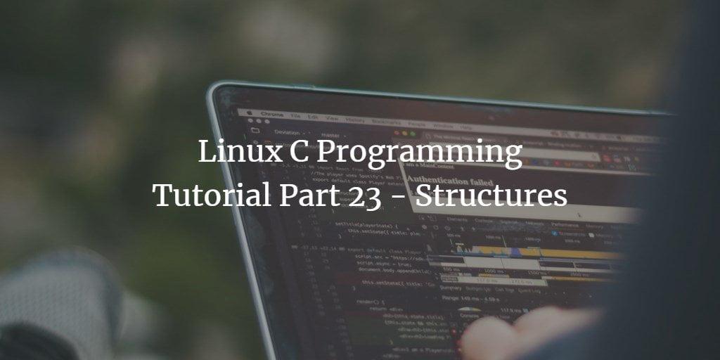 Linux C Programming Tutorial Half 23   Webilicious
