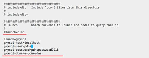 Install PowerDNS