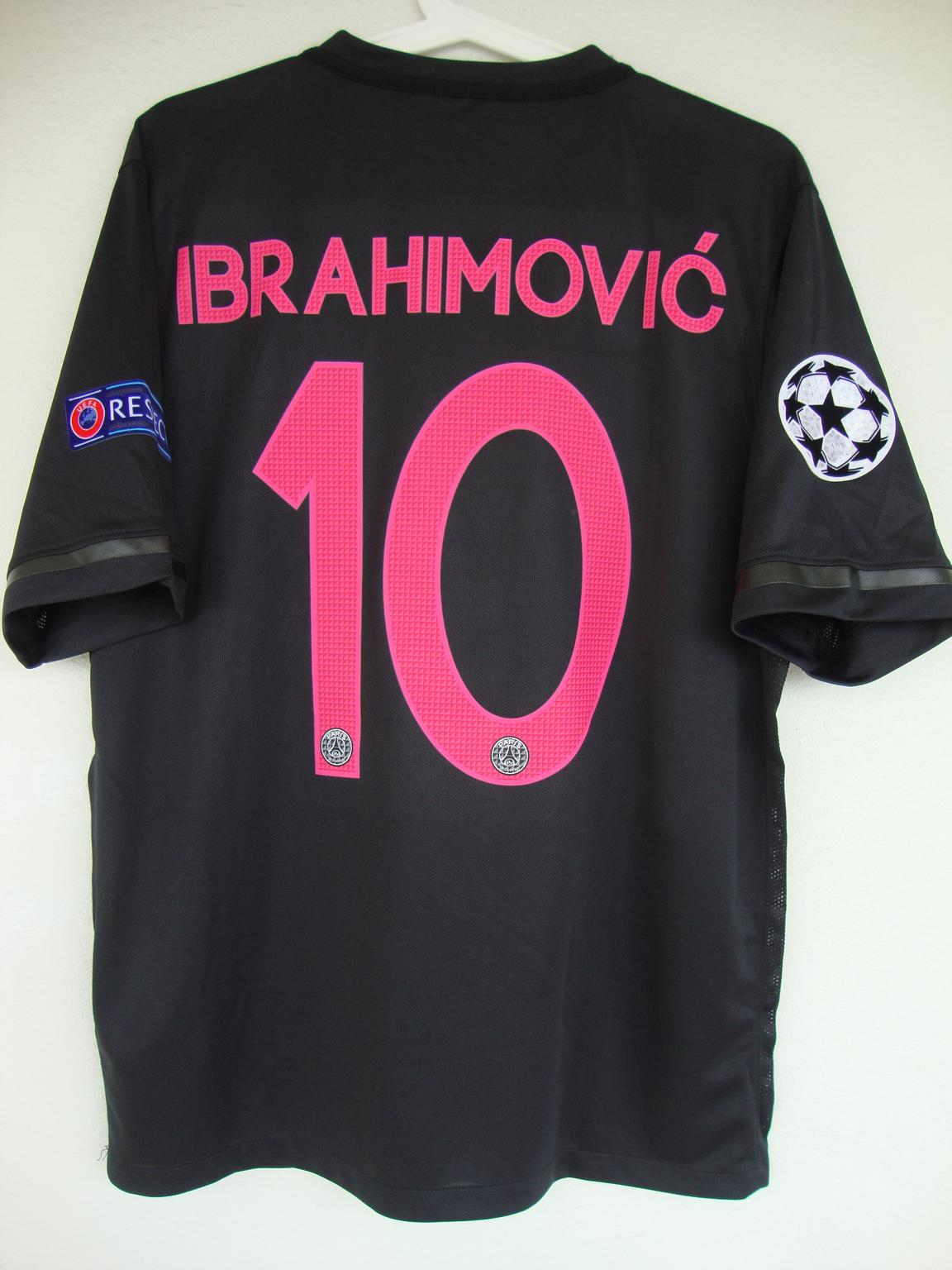 psg paris saint germain trikot ibrahimovic m
